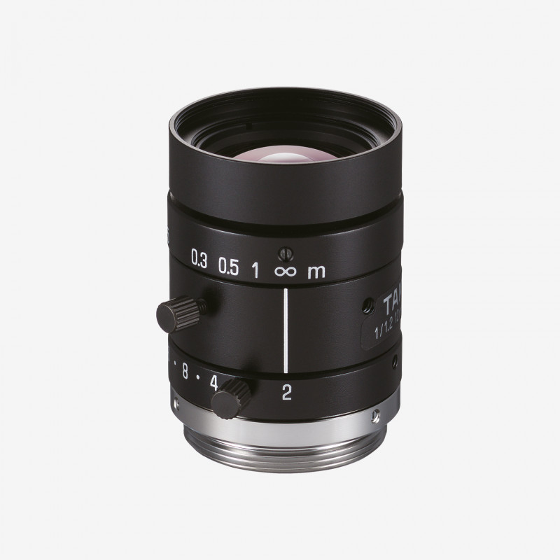 "Lens for IDS industrial cmeras: Tamron, M112FM12, 12 mm, 1/1.2"", AE00197"