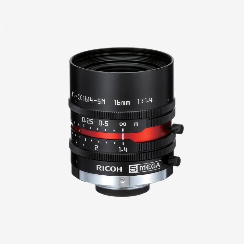 """レンズ、RICOH、FL-CC1614-5M、16 mm、2/3"""""""