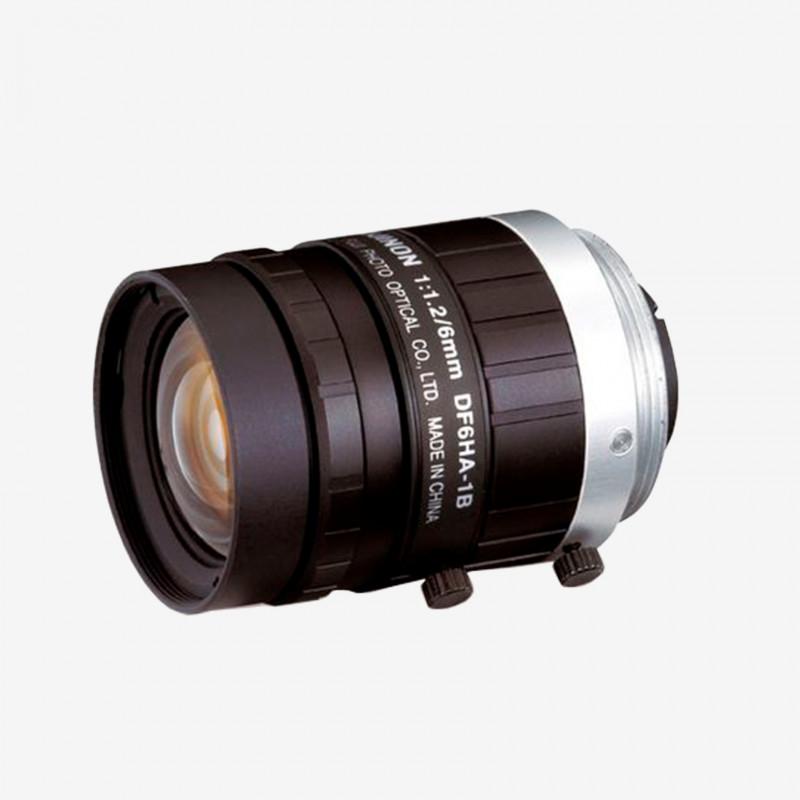 "Objektiv, Fujifilm, DF6HA-1S, 6 mm, 1/2"" C-Mount. 2/3"". 6 mm. Fujifilm. AE00262"