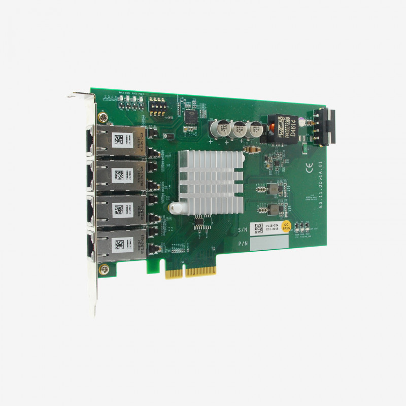 Neousys PCIe-PoE354at x4 network card 4-port - AL00050