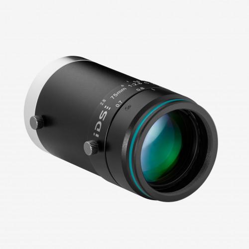 """レンズ、IDS、IDS-2M23-C7528、75 mm、2/3"""""""