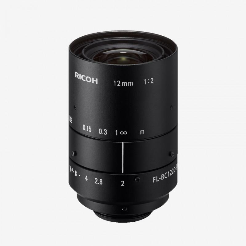 """レンズ、RICOH、FL-BC1220-9M、12 mm、1"""""""
