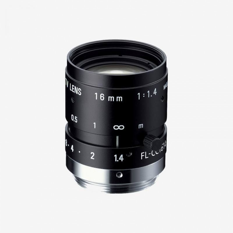 "Lens, RICOH, FL-CC1614-2M, 16 mm, 2/3"" C-Mount. 2/3"". 16 mm. Ricoh. AE005020110000"