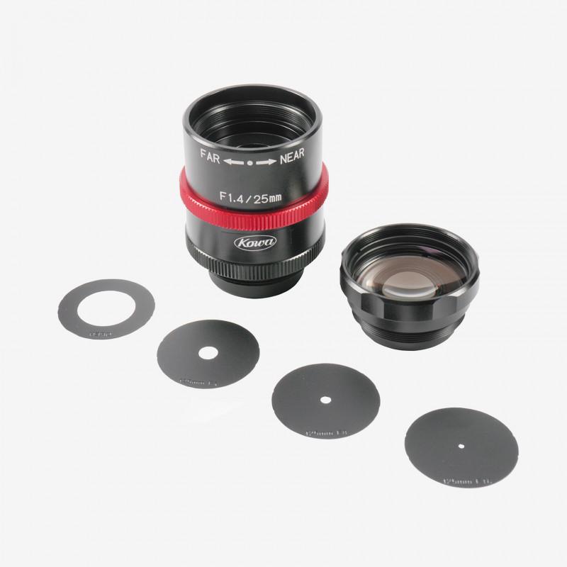 """レンズ、Kowa、LM25JCM-WP、25 mm、2/3"""""""