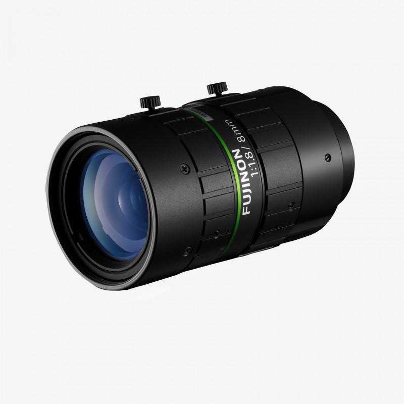 """レンズ、Fujifilm、HF818-12M、8 mm 、2/3"""""""
